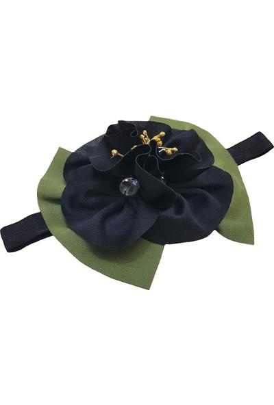 Babygiz Çiçek Aksesuarlı Saç Bandı Nba263
