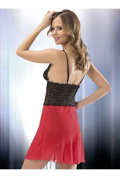 Mite Love Dantelli Tül Gecelik Kadın Fantazi Giyim