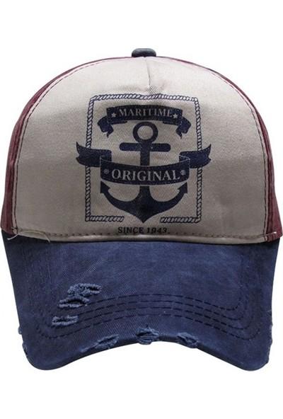 Outlet Çarşım Erkek Hip Hop Snapback Şapka Maritime