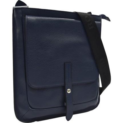 Bond 1220 1170 Hakiki Deri Lacivert Erkek Omuz çantası Fiyatı