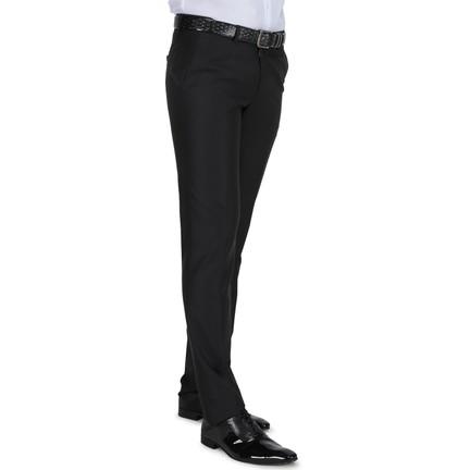 9561207d18549 Buenza Klasik Kesim Pilesiz Kumaş Pantolon - Siyah Fiyatı