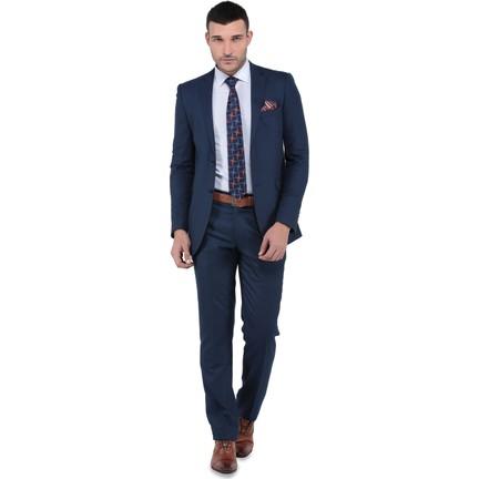 07b14db3bb565 Buenza Tesla Mono Tk Yrt 8 Drop Slimfit Takım Elbise -Mavi Fiyatı