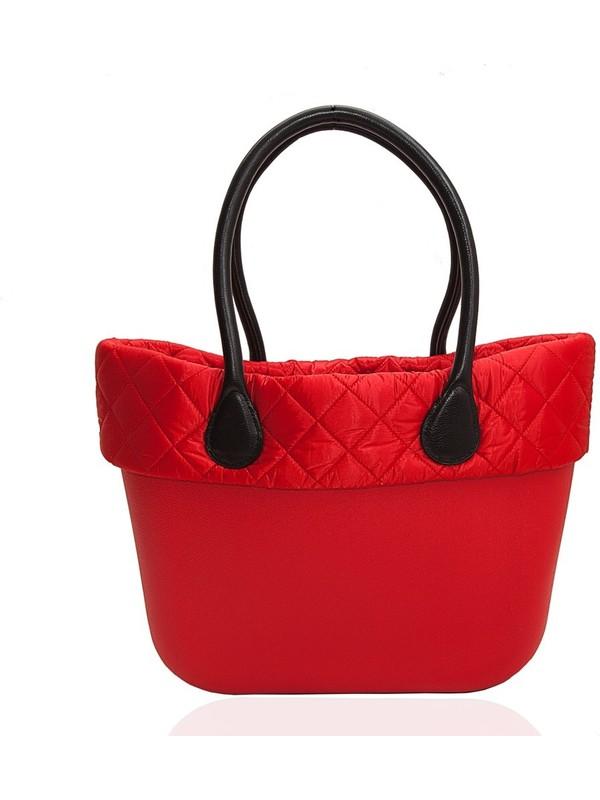 Picco Kullanışlı Kadın El Ve Kol Çantası Kırmızı Kapitone
