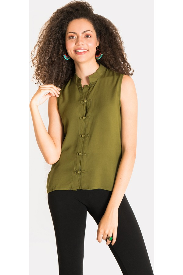Clandestino Solid Women's Shirt