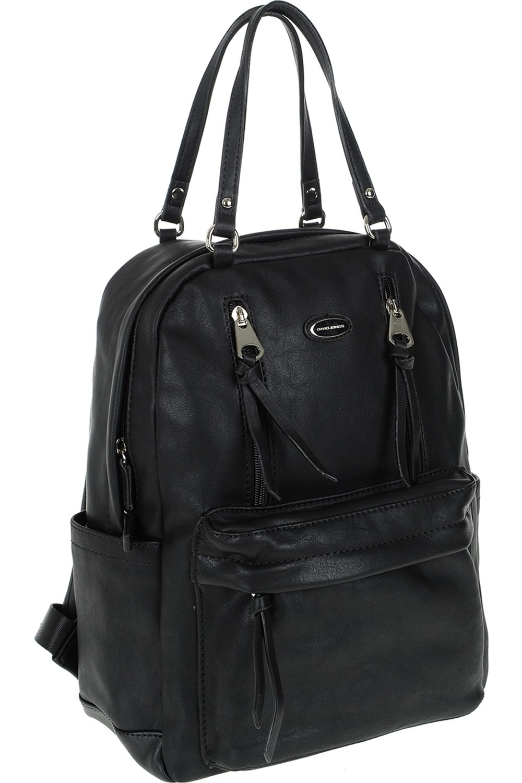 David Jones Women's Backpack Black