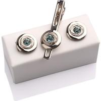 La Pescara Kol Düğmesi Ve Kravat İğnesi Set Kd335