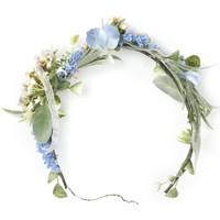 Elit Mavi Çiçekli Taç