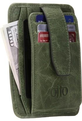 Otto Ot137 İtalyan Derisi Çok Amaçlı Cüzdan Rfıd Korumalı Banka Kartı Para Ve Fermuarlı Bozuk Para Bölmeli