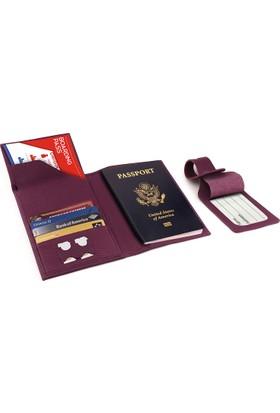 Otto Ot145 Hakiki Deri Pasaport Ve Seyahat Cüzdanı Rfıd Korumalı Uçak Bileti Kredi Kartı Ve Sim Kart Bölmeli