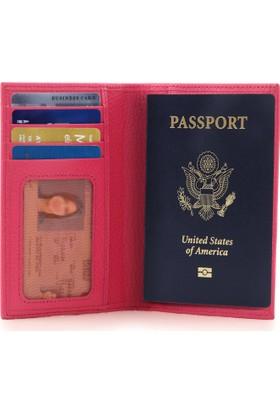 Otto Ot178 Hakiki Deri Pasaport Kılıfı Cüzdanı Rfıd Korumalı Valiz Kimlik Etiketli