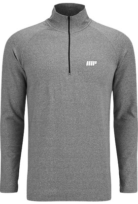 Byzinci Erkek Zip Uzun Kol Fitness Ve Body Performans Sweatshirt Hoodie