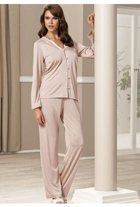 Pierre Cardin 5007 Boydan Patlı Pijama Takım