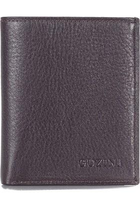 Guzini Mini Kahverengi Erkek Deri Cüzdan