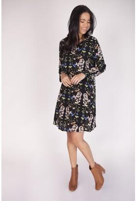 Cream&Rouge 16K724 Astarlı Çan Elbise