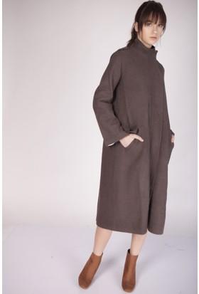 Cream&Rouge 15K024 Kaşe Ferm Palto