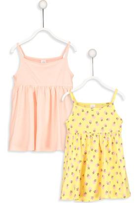 LC Waikiki Kız Bebek Elbise 2'li