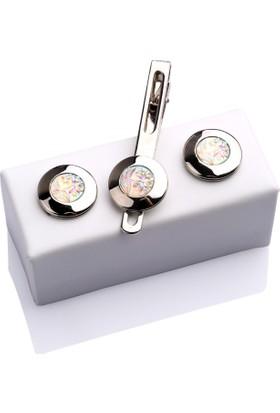 La Pescara Kol Düğmesi Ve Kravat İğnesi Set Kd329