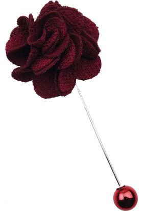 La Pescara Bordo Özel Tasarım Yaka Çiçeği Yc171
