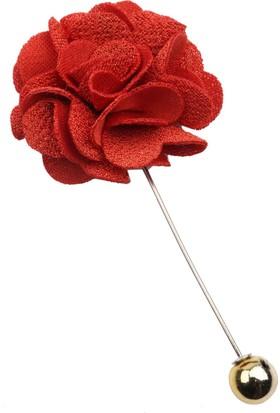 La Pescara Turuncu Özel Tasarım Yaka Çiçeği Yc178