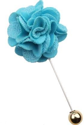 La Pescara Turkuaz Özel Tasarım Yaka Çiçeği Yc182