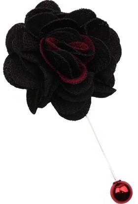 La Pescara Siyah - Bordo Yaka Çiçeği Yc185