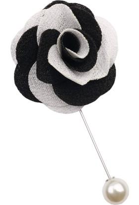 La Pescara Siyah - Beyaz Yaka Çiçeği Yc192