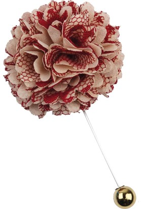 La Pescara Bordo - Krem Yaka Çiçeği Yc195