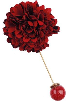 La Pescara Kırmızı - Lacivert Yaka Çiçeği Yc196