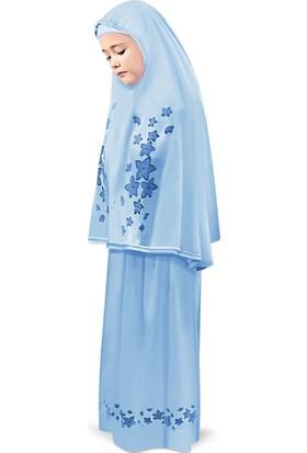 Oulabi Mir Kız Çocuk Namaz Elbisesi