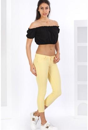 ZDN Jeans Düşük Bel Keten Pantolon W467