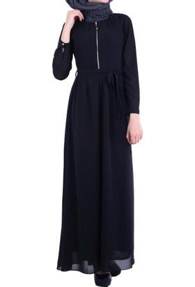 Stilife 8390 Zipli Yoryo Elbise - 18-1B225004