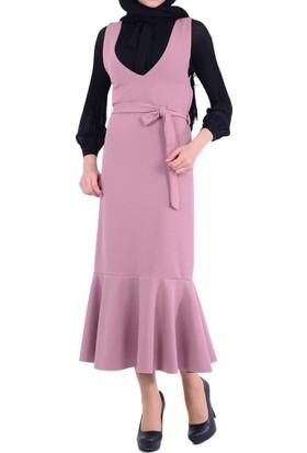 Miss Nisa 5053 Dalgıç Elbise - 18-1B336002