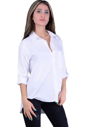Cazibe 5310 Yakalı Uzun Kol Gömlek - 18-1B469006