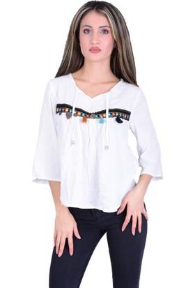 Firesh 6025 Kadın Bluz - 18-1B577023