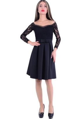 Gossip 2380 Dantelli Elbise - 18-1B616001