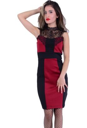Gossip 2207 Dantelli Elbise - 18-1B616009