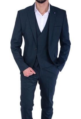 Casaba 7066 Yelekli Takım Elbise - 18-1E279009