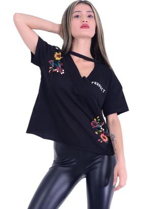 Firesh 1517 Desenli T-Shirt - 18-1B577014