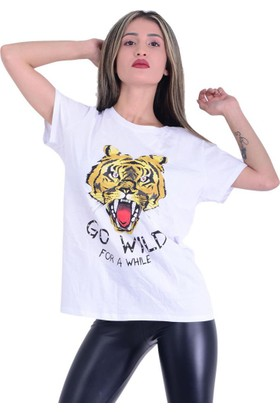 Firesh 1484 Figürlü T-Shirt - 18-1B577020