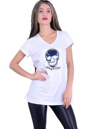 Lustrin 2579 Figürlü T-Shirt - 18-1B633012