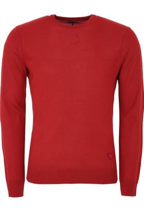 Armani Jeans Erkek Sweatshirt Kırmızı 6Y6MB46M22Z