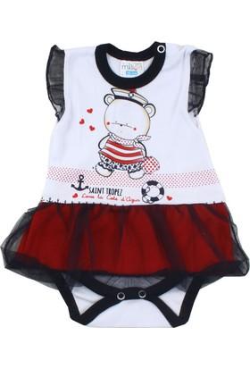 Missemo Denizci Yazlık Body'li Elbise
