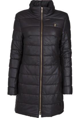 U.S. Polo Assn. Kadın Deri Ceket Sz035P01 P7051