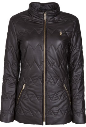 U.S. Polo Assn. Kadın Deri Ceket Sz035P01 P7056