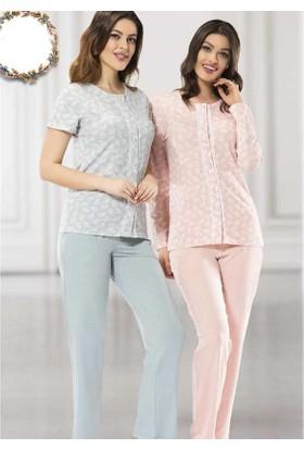 Poleren 5640 Yazlık Kadın Pijama Takımı