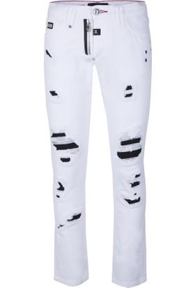Philipp Plein Jeans Erkek Kot Pantolon S18C Mdt0767 Pde001N