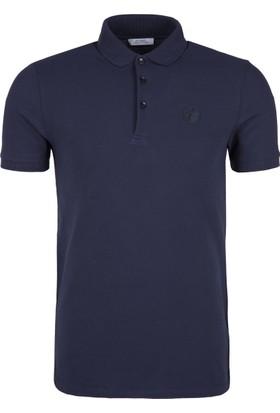 Versace Collectıon Erkek Polo Yaka Tshirt Vj0003 V800488S V7023
