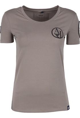 Armani Jeans Kadın T Shirt 6Y5T88 5Jajz 1752