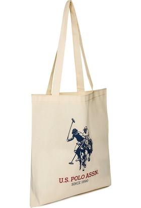 U.S. Polo Assn. Kadın Bez Çanta.
