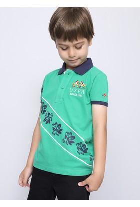 U.S. Polo Assn. Erkek Çocuk Bony T-Shirt Yeşil